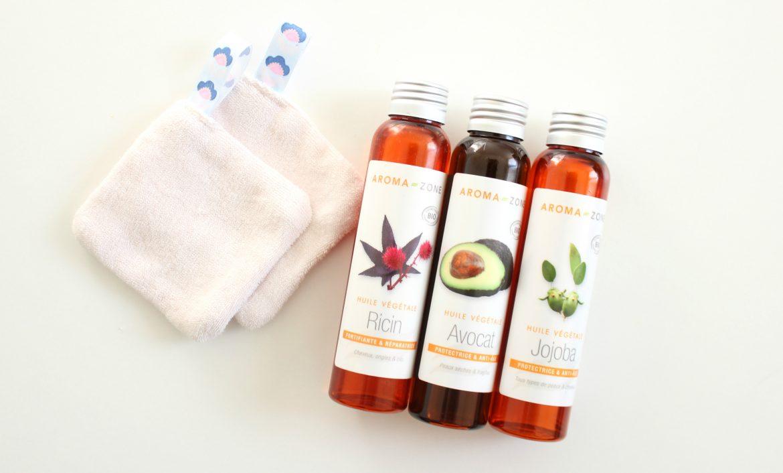 huile vegetale demaquillante