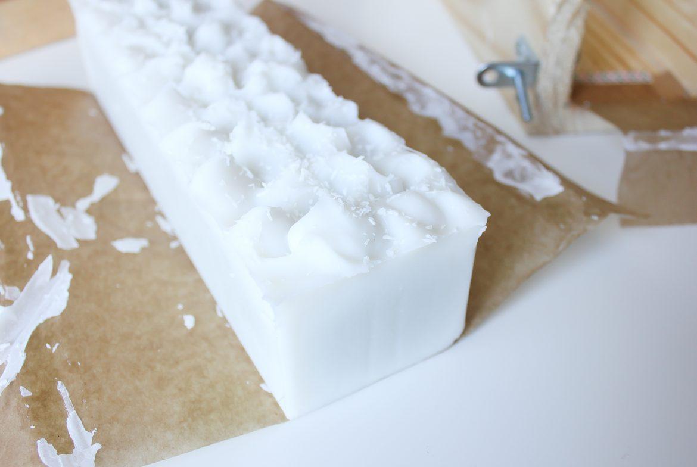 Savon saponifié à froid facile 100% coco