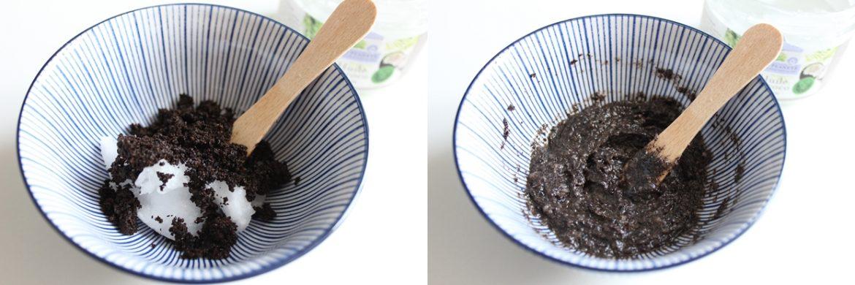 Gommage marc de café / coco