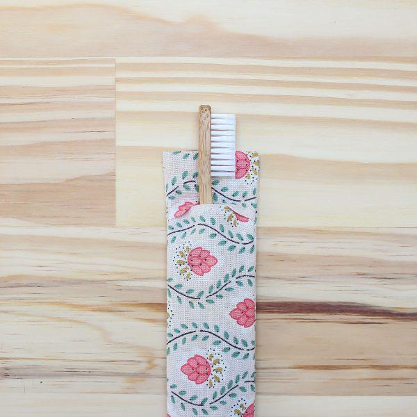 Pochette à brosse à dents zéro déchet