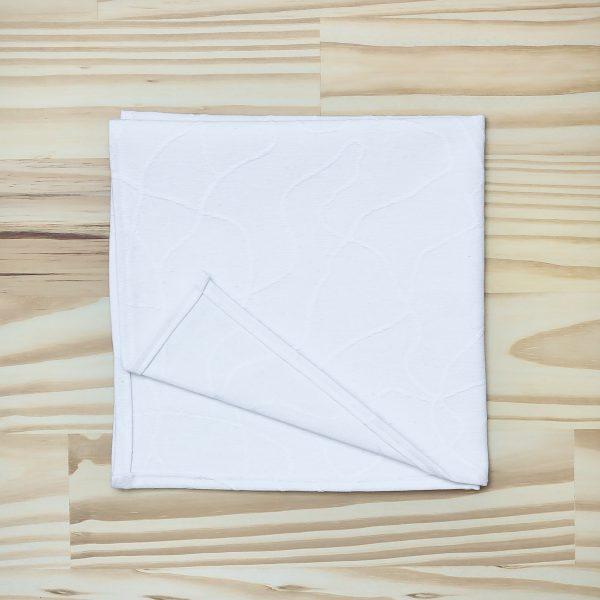 Serviette de table en tissu zéro déchet